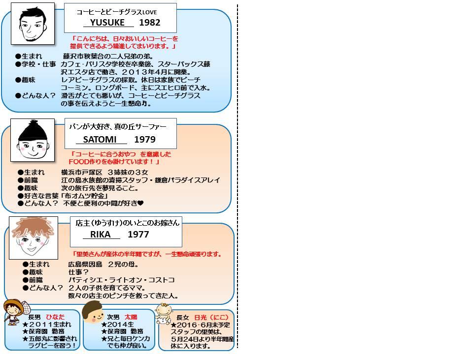 スタッフ紹介震災カード販売